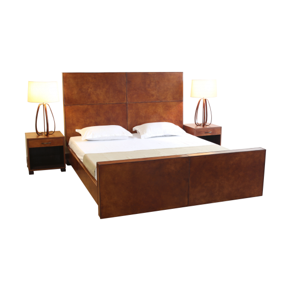 Big Heart Double Bed