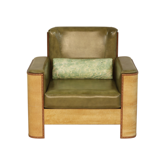 Starboard Sofa Single Seater - Sand Moss Green