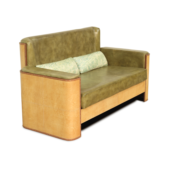 Starboard Sofa Double Seater - Sand Moss Green