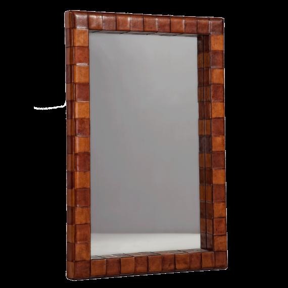 Woven Mirror Rectangular